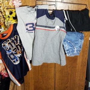 Other - 5pc sleeveless shirts and shorts Bundle